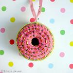 Knitted Doughnut
