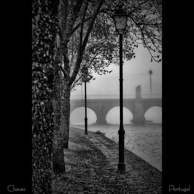 A névoa de Chaves - Portugal