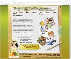 Treasure Valley Errands Flash Website