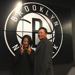 Outfitting the Brooklyn Nets tonight.