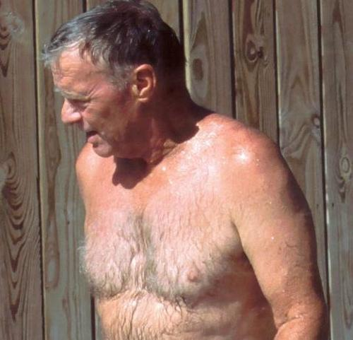 Naked Hairy Old Man