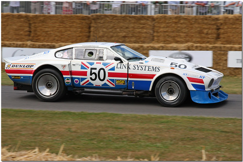 1977 Aston Martin V8 Le Mans Goodwood Festival of Speed 2009