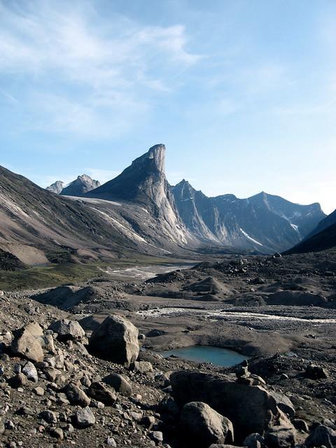 Thor Peak from Half-hour Creek