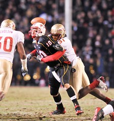 Terps ACC Title Hopes Dashed As Seminoles Defeat Maryland 37-3