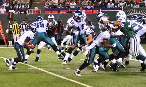 Football: Jets-v-Eagles, Sep 2009 - 13