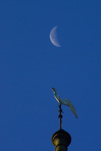 Moon and Weather Vane, Trellech