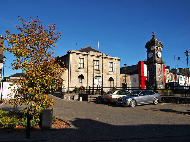 Boyle Courthouse and Town Clock