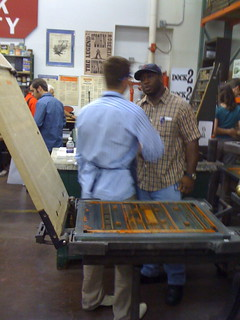 Dock2 Letterpress Shop Grand Opening