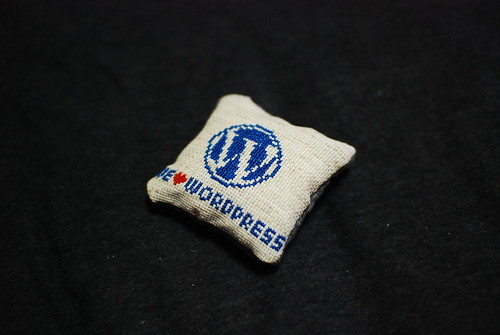 WordPress needle cushion