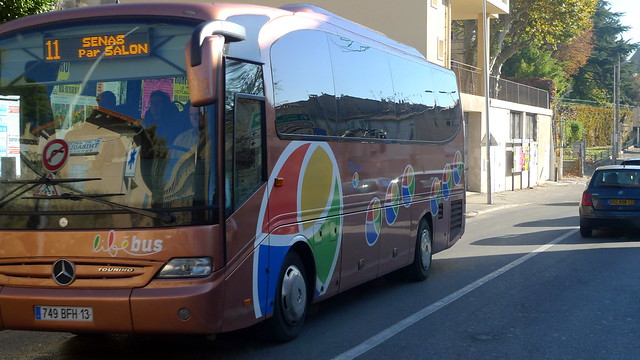 Lib bus habillage de bus salon de provence fr13 flickr photo sharing - Transport salon de provence ...