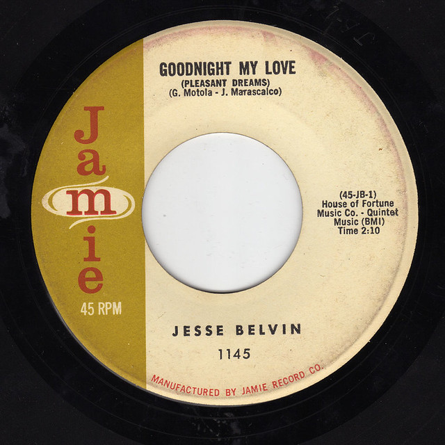 Jesse Belvin - Good Night My Love / Senorita