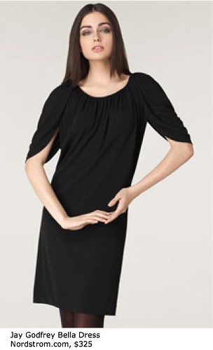 Jay Godfrey _Bella_ Cowl Neck Dress - Sleeves - Nordstrom