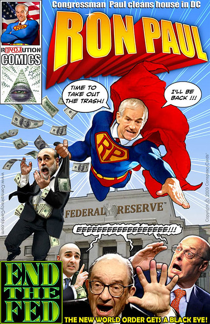 Ron Paul Super Hero