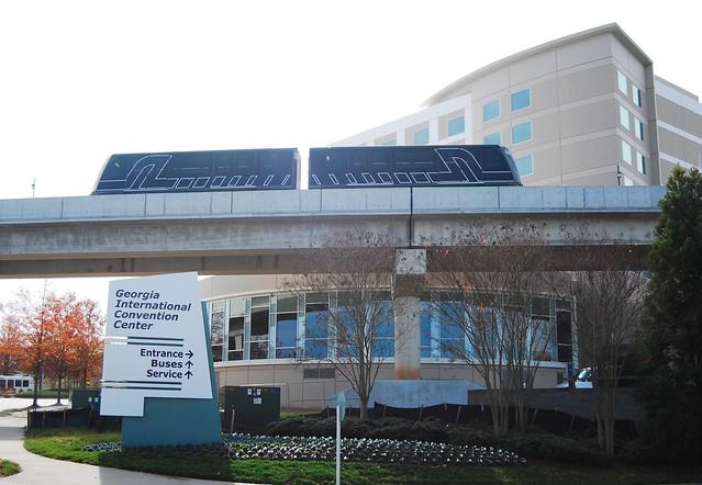 ATL SkyTrain Passes GICCGateway Center December 2009