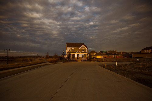 homes sunset sunlight house home clouds dallas texas dfw thecolony nieghborhood austinwaters