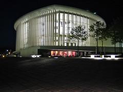 philharmonie at night