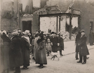 G. Davison. Shop in Ruins