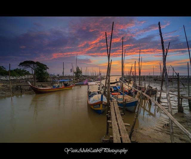 Kuala Sungai Dedap   Sunset