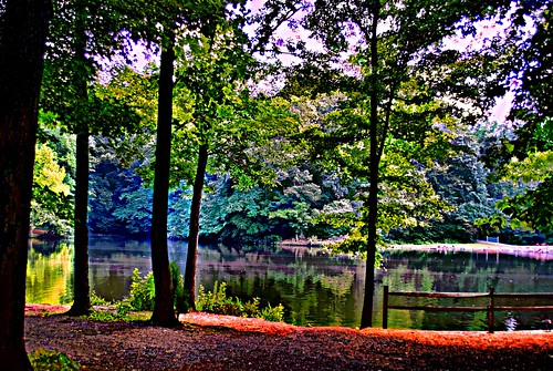 lake landscape digitalart lexingtonnc davidsoncounty finchpark sonyalphadslra200 nmpemulation