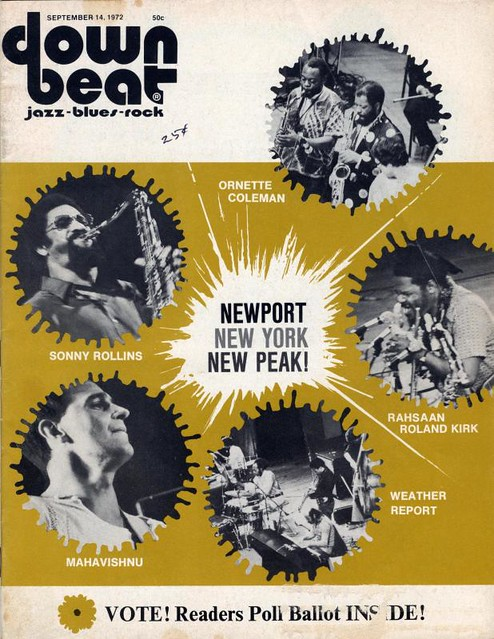 September 1972 Down Beat Magazine