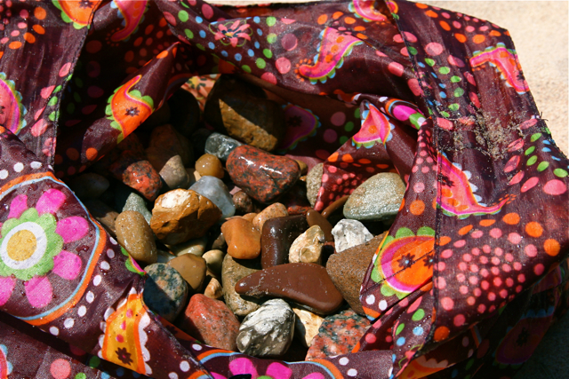 bag of rocks