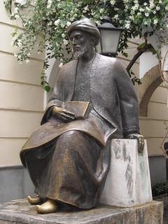 Monumento a Maimónides képe. españa spain andalucia cordoba statua cordova spagna judería maimonides