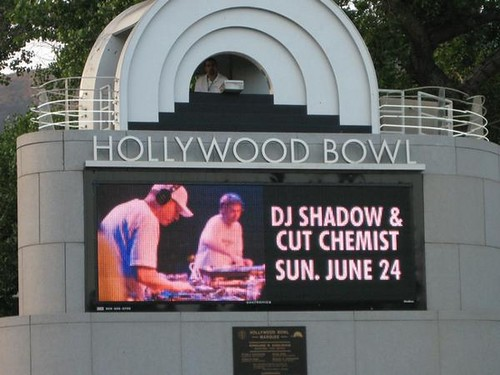 Shadow & Cut at the Hollywood Bowl
