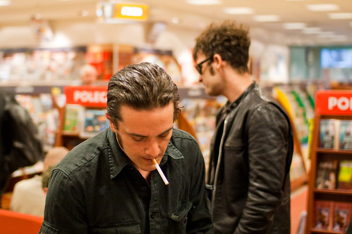 Meeting with Black Rebel Motorcycle Club