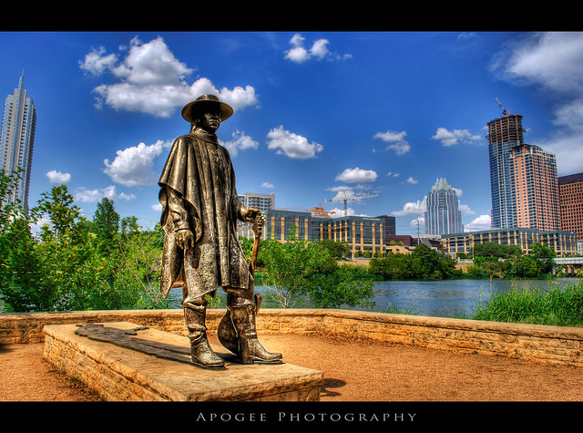 Stevie Ray at Town Lake