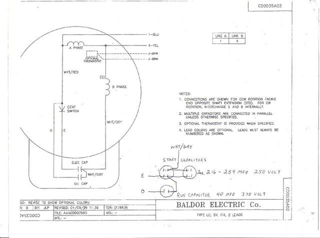 baldor wiring diagrams l1410t baldor electric motors wiring diagrams
