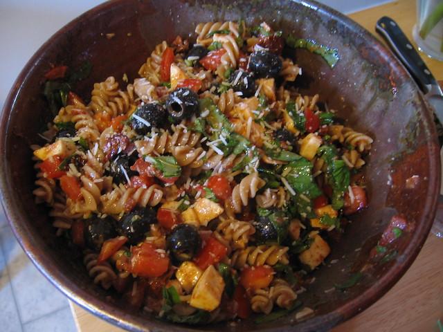 Ina Garten 39 S Mottzarella Pasta Salad Flickr Photo Sharing