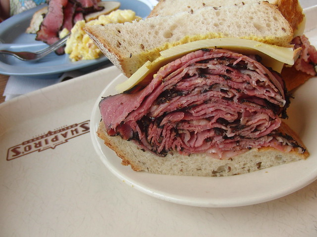 Pastrami sandwich from Shapiro's deli in Indianapolis. Even better than it looks. Promise.
