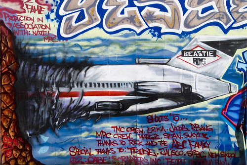 Bayview street expression for Beastie boys mural