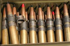 cue stick(0.0), firearm(0.0), gun(0.0), gun barrel(0.0), weapon(1.0), ammunition(1.0),