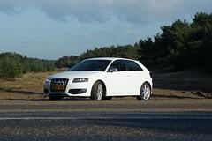 executive car(0.0), family car(0.0), sedan(0.0), automobile(1.0), automotive exterior(1.0), audi(1.0), wheel(1.0), vehicle(1.0), automotive design(1.0), audi a3(1.0), compact car(1.0), bumper(1.0), land vehicle(1.0), luxury vehicle(1.0), sports car(1.0),