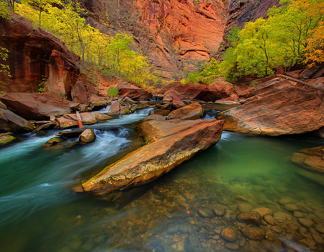 Zion National Park - The Narrows Entrance