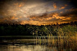 evening at lake1