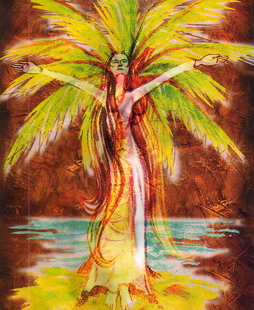 the coconut tree legend The coconut tree is one of the most common trees in the islands of tahiti the polynesians always tell a legend about its creation the coconut tree legend.
