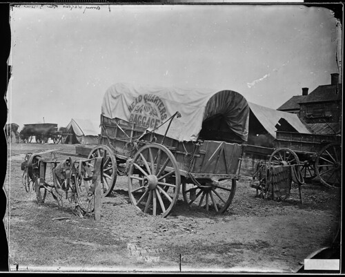 General Grants baggage wagon