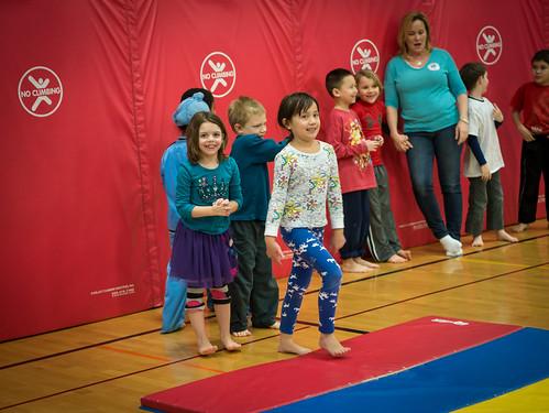 Gymnastics unit