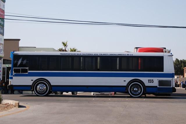 Tijuana camion azul y blanco cogiendo - 1 part 5
