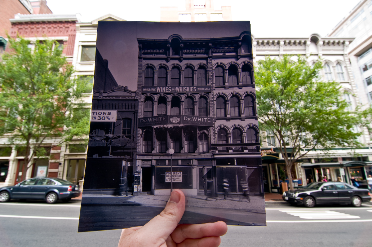Looking Into the Past: 7th Street, Washington, DC