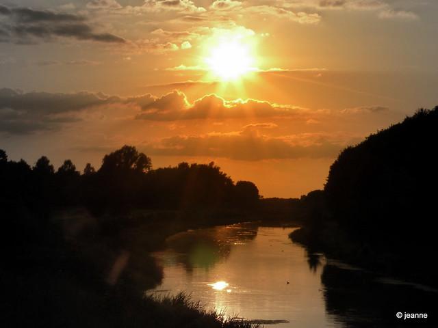 Berkel sunset - Eibergen
