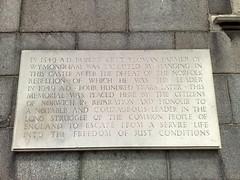 Photo of Robert Kett stone plaque