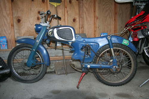 1964 Honda c110 project for sale | Planned to make this one … | Flickr - Photo Sharing!