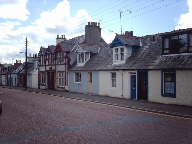 Castle Douglas. Queen Street.  IMAG1198