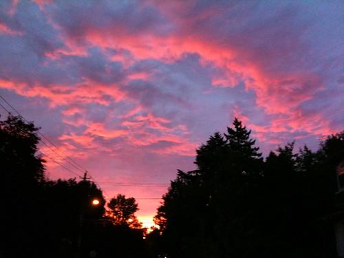 morning mobile sunrise portland