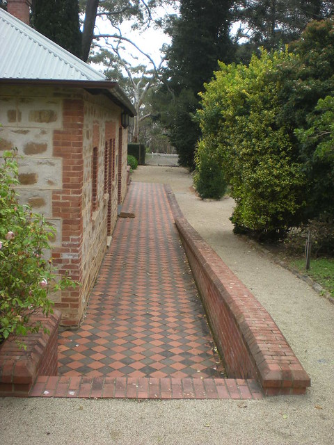Checkered paving flickr photo sharing for Paver installation adelaide