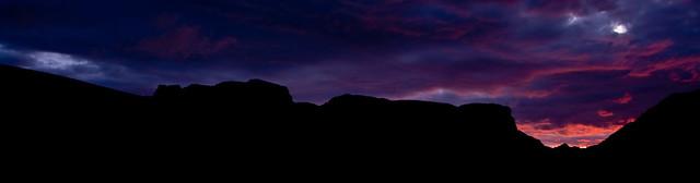 Panoramic Isle of Skye Sunset