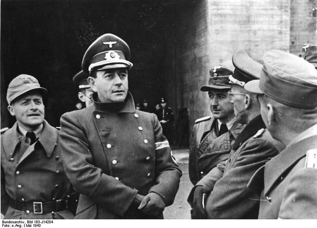 May 1943.Atlantikwall. Albert Speer, Xaver Dorsch